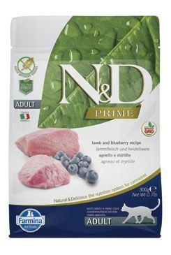 N & D PRIME CAT Adult Lamb & Blueberry 300g