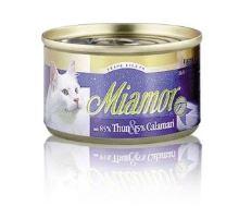 Miamor Cat Filet konzerva tuniak + kalamáre 100g