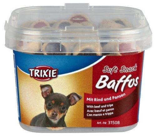 Soft Snack BAFFOS mini kolieska hovädzie, držky, pl.kelímek 140g