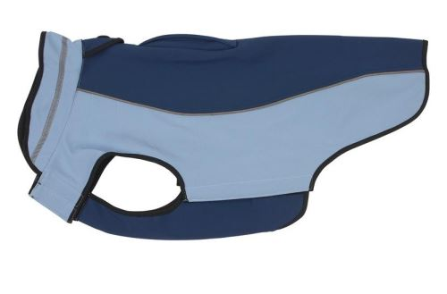 Obleček Softshell Kruuse Sivá / Vínová 53cm XL