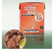 Platinum Menu Turkey+Salmon 375g