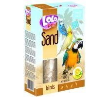 Lolopets citrónový piesok pre vtáky 1500 g