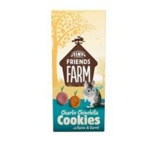 Supreme Tiny Farm Snack Charlie Cookies činčila 120g