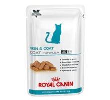 Royal Canin VD Feline kapsičky Skin & Coat 12x100g VÝPREDAJ