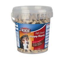 Soft Snack Happy Hearts - srdiečka jahňacie s ryžou, kýblik 500g