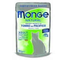 Monge Natural kapsička tuniak v želé pre mačky 80g