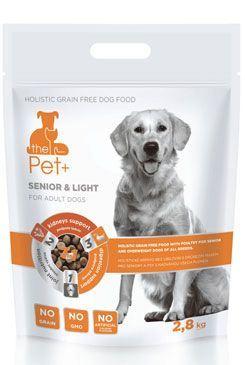 Krmivo Pet + 3v1 pes SENIOR & LIGHT Adult 2,8 kg