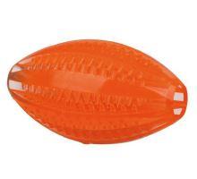 DENTAfun rugby loptu, Termoplastová guma (TPR) 10 cm