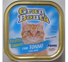 Gran Bonta paštéta s tuniakom pre mačky 100g