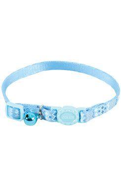 Obojok mačka ETHNIC nylon modrý Zolux