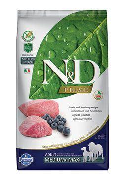 N & D PRIME DOG Adult M / L Lamb & Blueberry 2,5kg