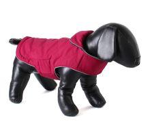 Doodlebone obojstranná zimná bunda, raspberry / navy