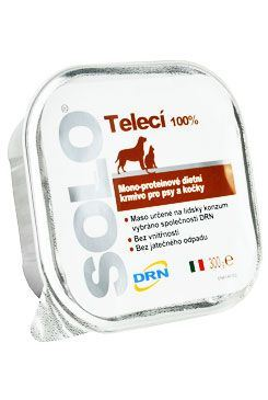 SOLO Vitello 100% (teľacie) vanička 300g