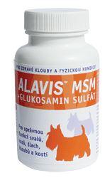 Alavis MSM + Glukosamín sulfát pre psy 60tbl