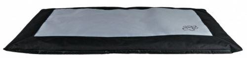 Deka obdelník DRAGO 100 x 70 cm černo/šedá
