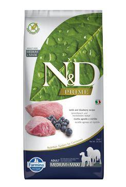 N & D PRIME DOG Adult M / L Lamb & Blueberry 12kg