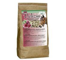 Pochúťka pre kone Delizia malina 1kg