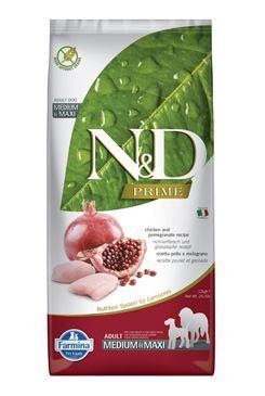 N & D PRIME DOG Adult M / L Chicken & Pomegranate 12kg