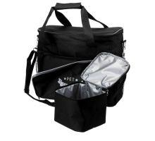 Cestovná taška na potreby pre psa + zásobník na krmivo, 38x354x17cm, čierna