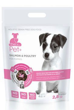 Krmivo Pet + 3v1 pes SALMON & POULTRY Puppies 2,8 kg
