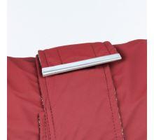Vínová vesta FIRENZE s odopínacou kapucňou a golierom, S 36 cm