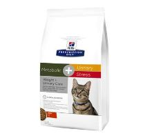 Hill 'Feline Dry Adult Metabolic + Urin. stres 4kg