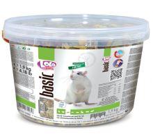 Lolo BASIC kompletné krmivo pre kanárikov 3L / 2,4kg kýblik