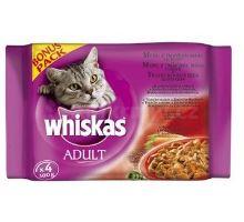 Whiskas vrecko Menu z tmav. mäsa 12x100g