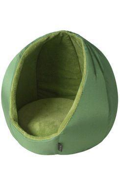 Pelech domček Kukaňa KING zelená 45cm D32