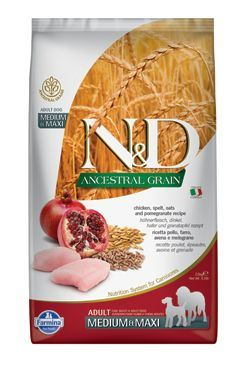 N & D LG DOG Adult M / L Chicken & Pomegranate 2,5kg