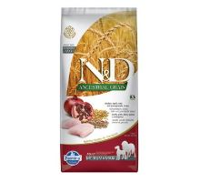 N & D Low Grain M / L Chicken & Pomegranate Adult Dog 12kg