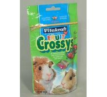 Vitakraft Rodenta morča Crossys Wildberry 50g