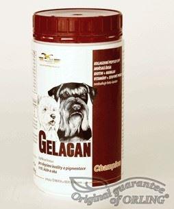 Gelacan Champion psi čiernobiela plemená 150g
