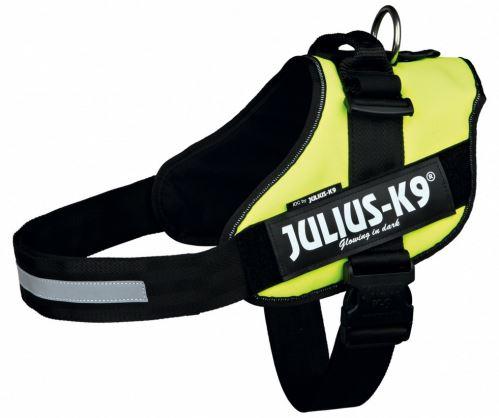 Julius-K9 silový postroj 3 / XL 82-115 cm neónovo žltý