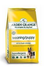 Arden Grange Weaning/Puppy rich in fresh Chicken & Rice 2kg