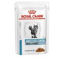 Royal Canin VD Cat Sensitivity Control Chicken & Rice Pouch 12x85g