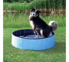 Bazén pro psy 120 x 30 cm světle modrá/modrá