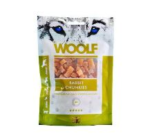 WOOLF pochúťka rabbit chunkies 100g