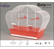 Klietka BETA - biela 560x280x440mm