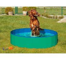 Karlie-Flamingo Skládací bazén pro psy zeleno/modrý 160x30cm