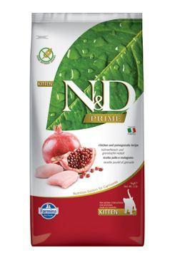 N & D PRIME CAT KITTEN Chicken & Pomegranate 10kg