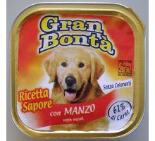 Gran Bonta paštéta s hovädzím mäsom pre psov 150g