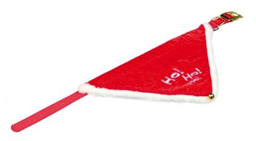 Vianočné šatka pre psa 30-40 cm / 20 mm S - M