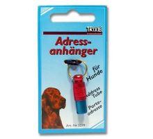 Adresár kovový červeno-modrý 25/10mm Trixie