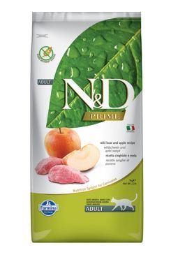 N & D PRIME CAT Adult Boar & Apple 10kg