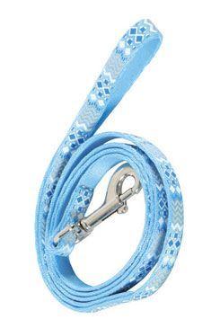 Vodítko mačka ETHNIC nylon modré 1m Zolux