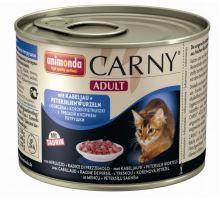ANIMONDA konzerva CARNY Adult - treska, petržlen 400g