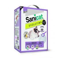 Sanicat EVOLUTION Senior bílý, jemný, hrudkující 6 L/5,1 kg