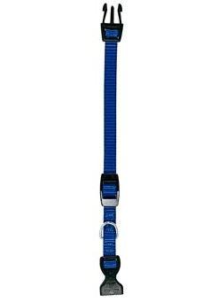 Obojok nylon CLUB C modrý 32cmx10mm