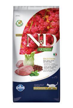 N & D GF Quinoa CAT Digestion Lamb & Fennel 5kg